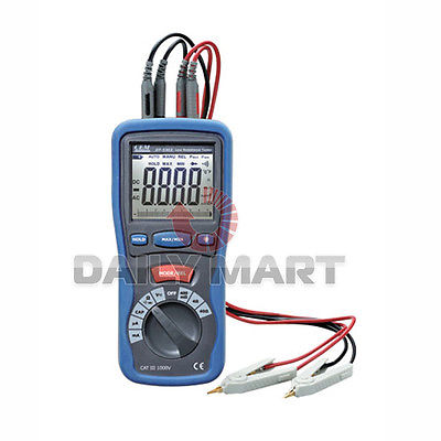 DHL/EMS CEM DT-5302 Digital High-Accuracy Kelvin 4-Wires Small Resistance Milliohm Meter