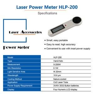 Image 5 - LSKCSH כף יד CO2 לייזר צינור כוח מד 0 200W HLP 200 עבור לייזר חריטה ומכונת חיתוך Reci/ SP/Yongli/EFR לייזר