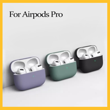 1 PCS Airpods Pro Case Silicone Case for Apple Airpods Pro Case 2019 Cover Air Pods 3 Fundas Capa Coque Wireless Bluetooth Case image