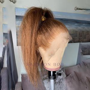 Aircabin 13x4 Lace Front Bob Wig Deep Wave Brazilian Human Hair Wigs For Black Women Glueless Shot Lace Closure Bob Wig Non-Remy(China)