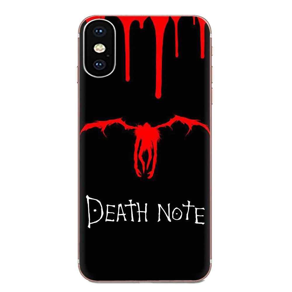 Чехол Ryuk смерть Кира Мягкий чехол из ТПУ для мобильного чехол для samsung Galaxy Note 5, 8, 9, S3 S4 S5 S6 S7 S8 S9 S10 5G mini Edge рlus Lite