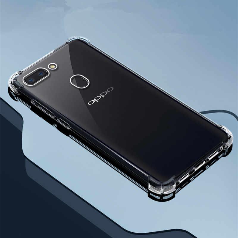 Clear Case Para OPPO F11 F5 F7 F9 Reyno X2 XT 5 3 Pró 3i X Lite C2 2 C1 Q a3s A5s A9 A5 2020 k1 r15x A1K reno 10x zoom capa z