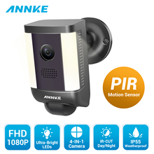 ANNKE 1X Full HD 1080P 4-in-1 Camera With Warm Light Weatherproof Night Vision PIR Detection Spotlight Alarm CCTV Security Kit