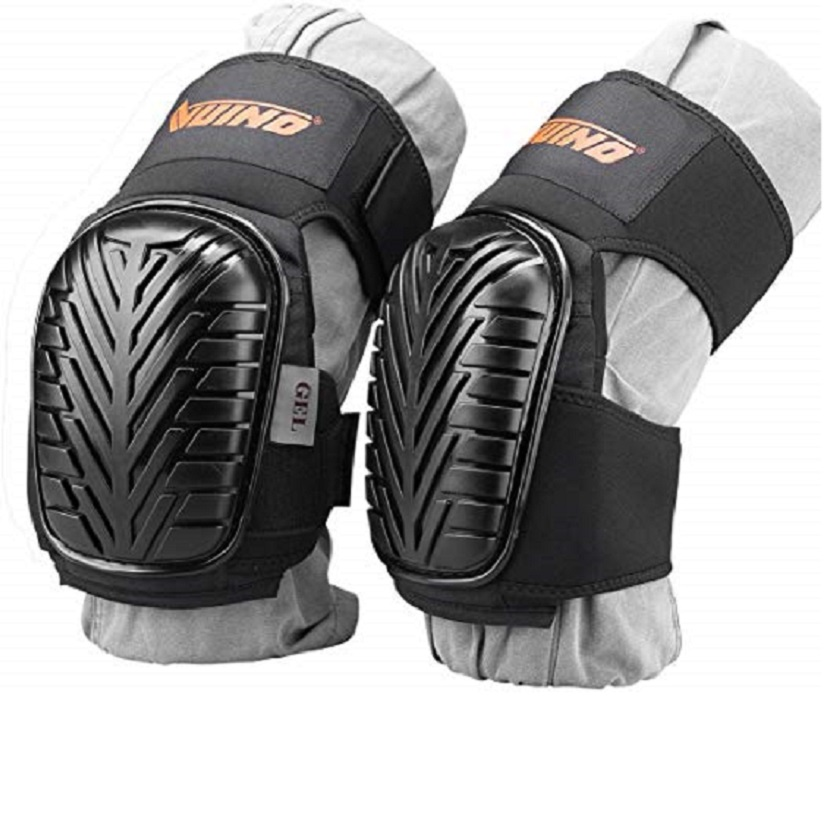 Professional Heavy Duty EVA Foam Padding Knee Pads with Comfortable Gel Cushion and Adjustable Straps for Working  Gardning title=