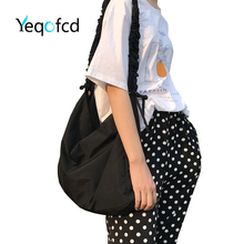 Yeqofcd Handbags Ladies Nylon Zipper Travel Purses Shoulder Bags Large Capacity Satchel Messenger Crossbody Bag For Women