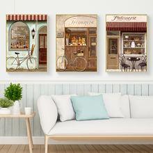 Винтажные Плакаты для бара настенная Картина на холсте печать