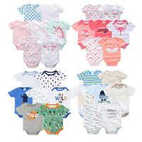 brands vetement bebe summer 2019 7PCS/lot baby girl roupas de bebe recien nacido baby girl ropa 3 6 9 12 months newborn clothes