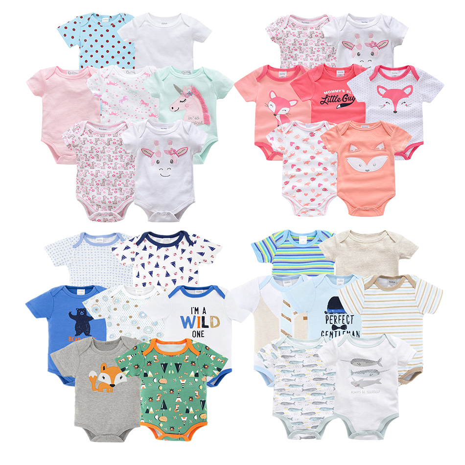 Brands Vetement Bebe Summer 2019 7PCS/lot Baby Girl Roupas De Bebe Recien Nacido Baby Girl Ropa 3 6 9 12 Months Newborn Clothes