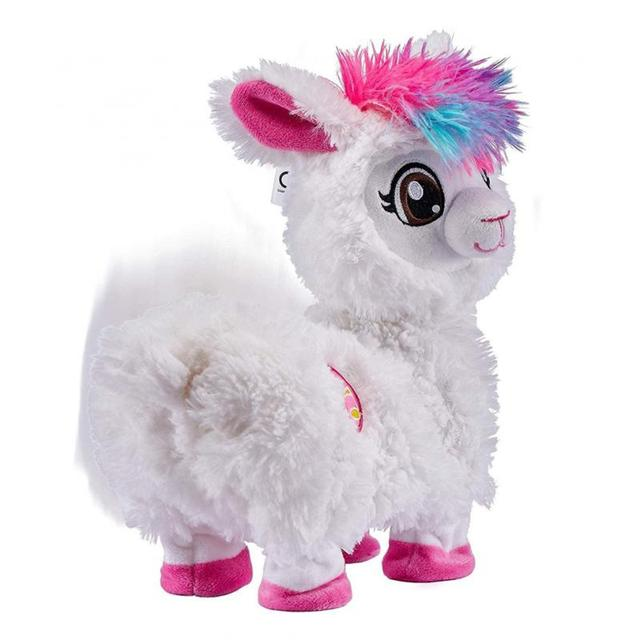 Pets Alive Boppi The Booty Shakin Llama Battery-Powered Dancing Robotic Toy By Zuru Collectible Toy Anime Figure Toys Gift 2