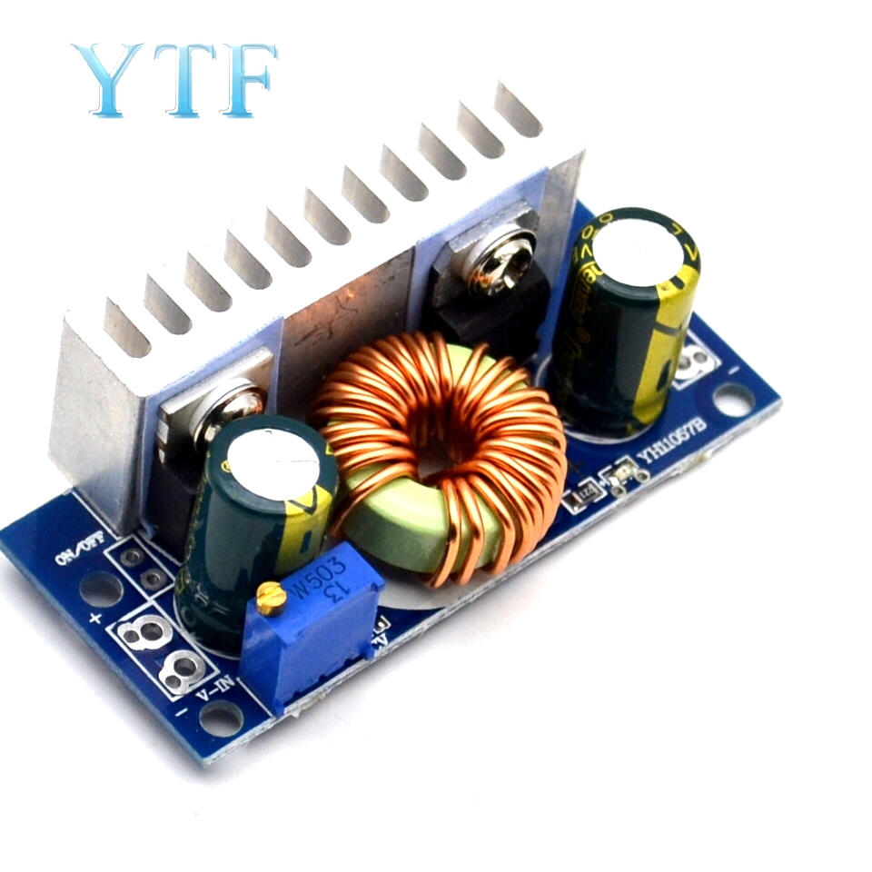 Input 4.5-32V To 5-42V DC-DC High-efficiency Step-up Module Wide-voltage Notebook Power Supply Industrial Power Supply Module