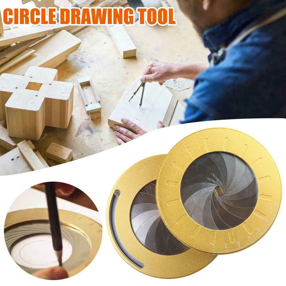 New Hot Flexible Circle Drawing Tool Rotary Adjustable Small Durable For Designer Woodworking SMD66