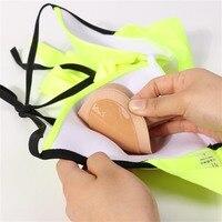 Bikini Chest Pad Bikini Set Push Up Padded Bikinis Swimsuit Women Swimwear Women Thicker Breathable Sponge Bra Pad 1