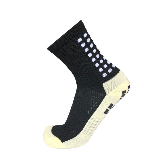 New Anti-slip Plantar Rubber Block Soccer Socks Men Outdoor Sport Football Socks for women