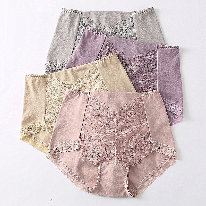 RUIN P1903 M-XXXL Women's Intimates Panties Women's Underwear High-Rise Briefs Women's Cotton Panties