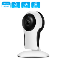 HD 960P Mini Wifi Camera Indoor 10M Night Vision Two-way Audio Home Security IP Camera CCTV Camera Home/Nanny/Pet/Baby Monitor