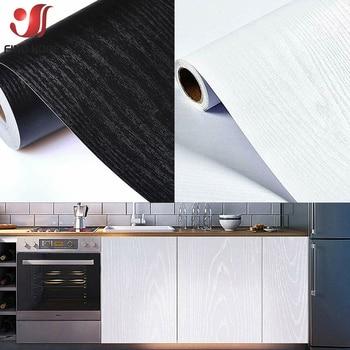 40*100cm Wood Grain Wallpaper Self Adhesive Furnitur Cabinet Contact Paper Wood Peel And Stick Films Sticker Home Decor DIY