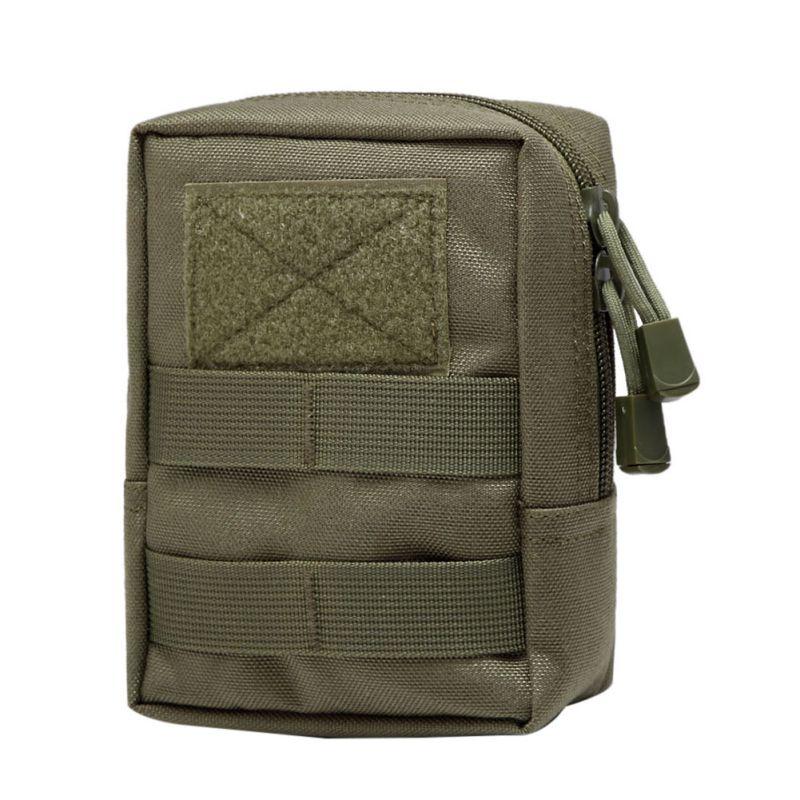 1000D Outdoor Military Tactical Waist Bag Multifunctional EDC Molle Tool Zipper Waist  Packbag Durable Belt Pouch Bags