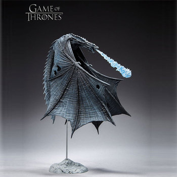 Kefang Game of Thrones Ice Dragon Movable Handmade Toy Model Decoration Deluxe Action Figure Collection Model Toys