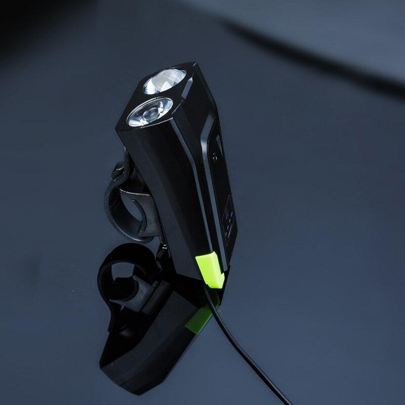 XANES SFL16 800LM Smart Bike Sensor Bicycle Cycling Light Headlight 120db Horn Set Far Near Distance Flashlight Torch Lantern