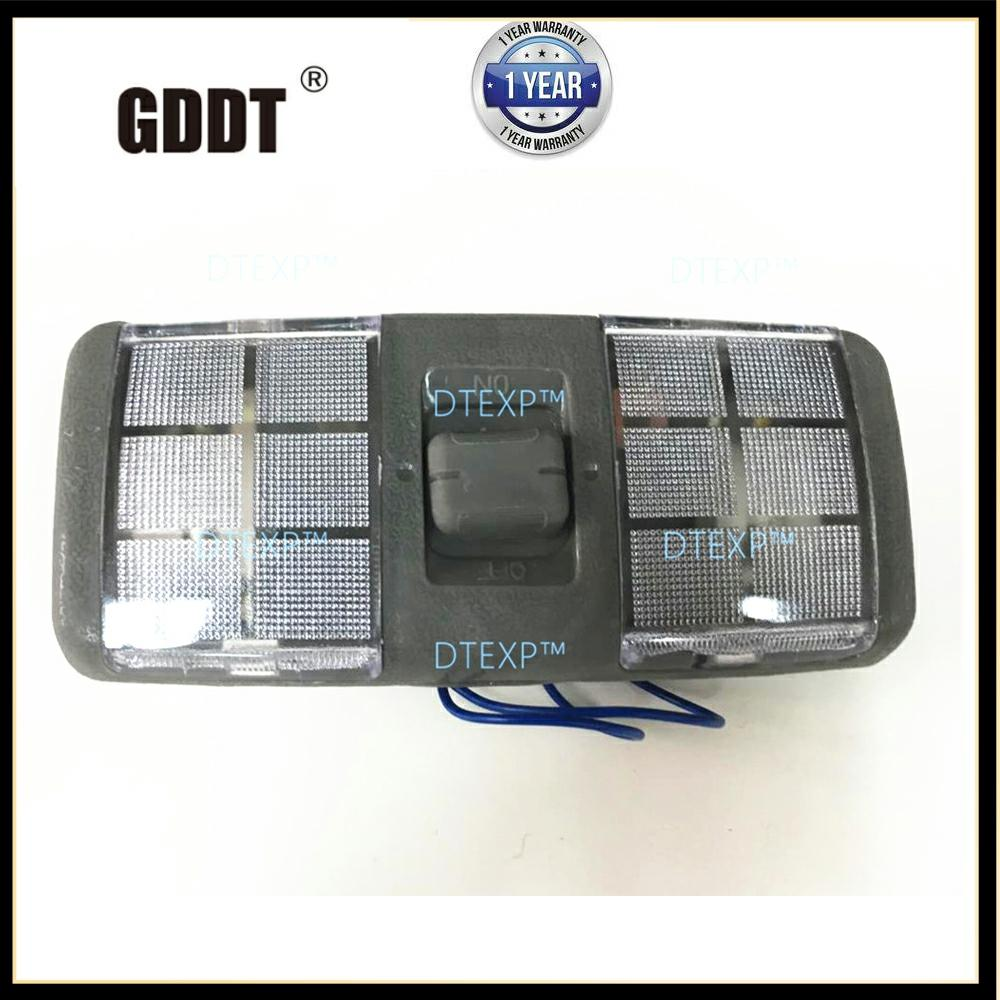 V32 V33 Front Roof Lamp WITH BULB For Pajero Reading Lamp For MONTERO 1989-1999 Rear Roof Lamp V31 V30 V43 Lamp Cover Available
