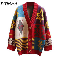 fall 2019 winter casual v neck oversized red cardigan womens clothing new long sleeve christmas sweater knitted jacket
