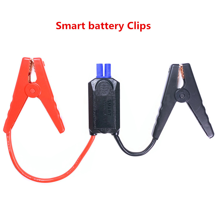 Emergency 200A Car Alligator clip EC5 plug 4IC power battery clips 10AWG cable