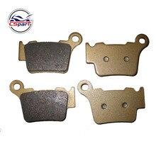 2 זוגות אחורי בלם Pad עבור KTM 125/200/250/300 EXC EXC200 2004 2014 05 06 07 08 09 10 11 12 13 FA368rear brake padsrear brakedirt bike