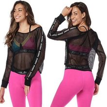 T-Shirt Yoga-Wear Fitness-Wear Sports-Tops Long-Sleeve Women's New Cheap Aerobics