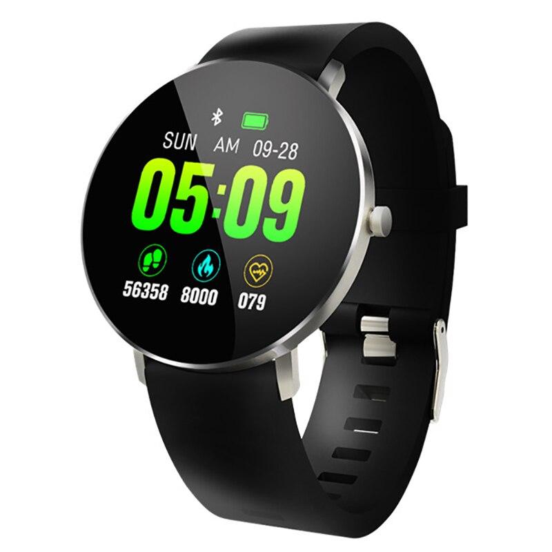 New Smart Watch F25 Smart Bracelet Full Screen Contact GPS Tracker Heart Rate Blood Pressure Step Smart Bracelet Sports Waterpro|Digital Watches| |  - title=