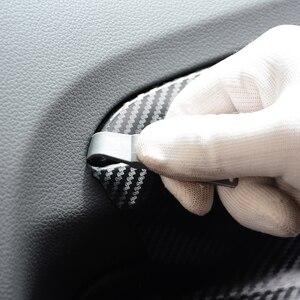 Image 3 - Ehdis 3 Pcs Auto Gereedschap Carbon Fiber Vinyl Wrap Film Zuigmond Schraper Auto Sticker Installeren Kit Cutter Auto Styling accessoires