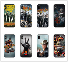 Zombieland 2 Double Tap phone case black soft cover for Samsung s8 s9 s10plus S6 S7Edge S5 for iPhone 6s 7 8plus 5 X XS XR XSMax