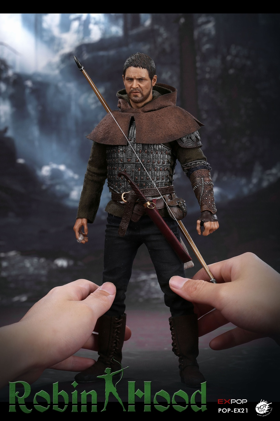 "POPTOYS EX21 1//6 Scale Chivalrous Robin Hood 12/"" Action Figure Body Sponge Suit"