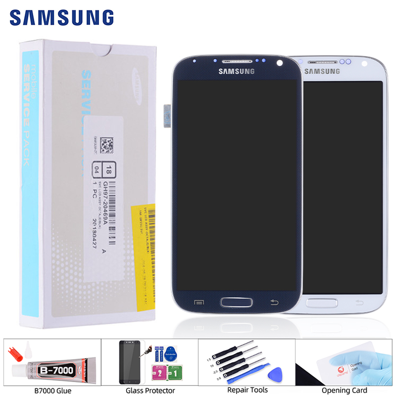 IPS LCD for <font><b>Samsung</b></font> <font><b>Galaxy</b></font> <font><b>S4</b></font> lcd digitizer <font><b>Touch</b></font> <font><b>Screen</b></font> GT-i9505 <font><b>i9500</b></font> i337 LCD For <font><b>Samsung</b></font> <font><b>S4</b></font> LCD Display Replacement Parts image