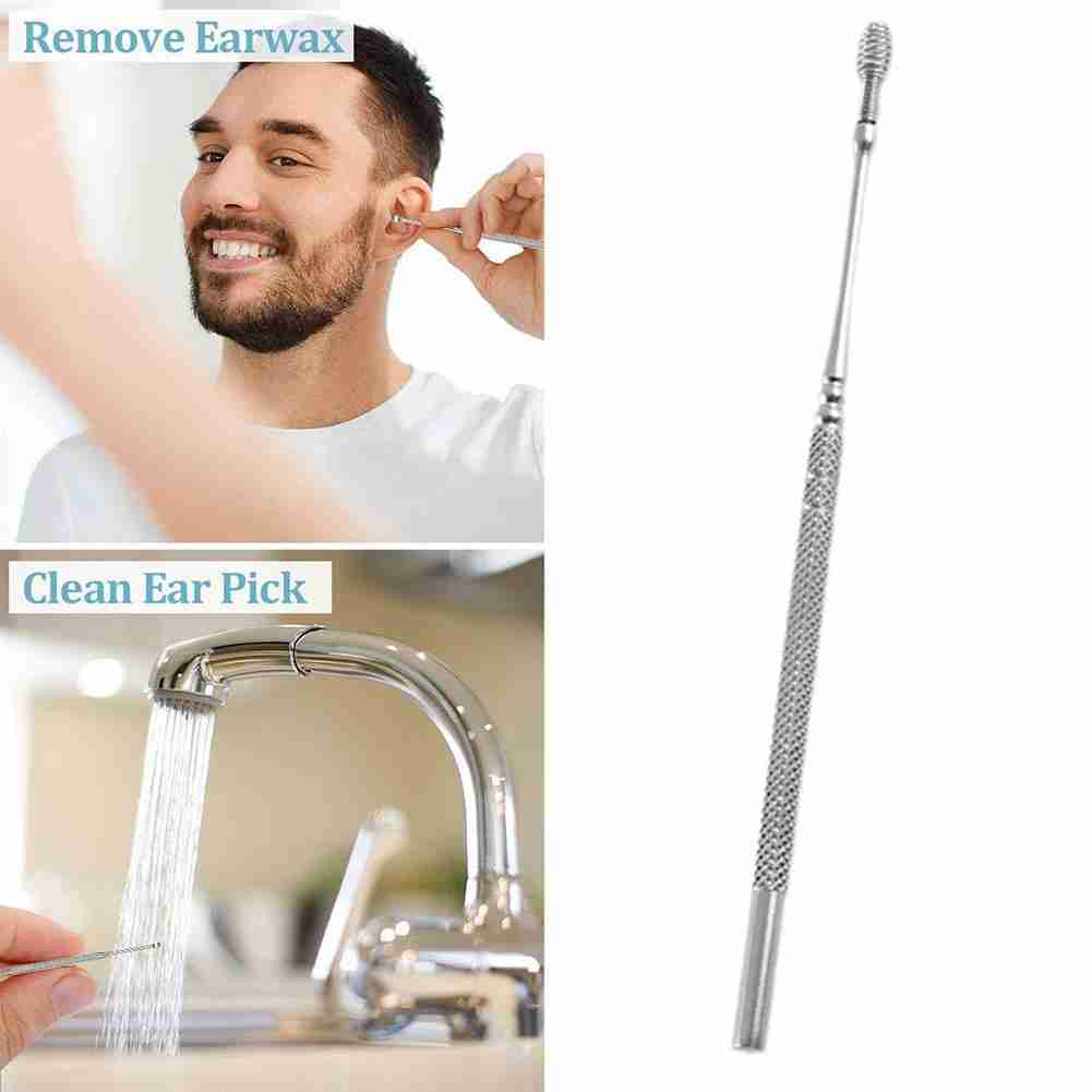 1pc Ear Wax Remove Kit Ear Pick Cleaning Tools  Ear Pick Curette Wax Cleaner Removal Health Stick Tool 5