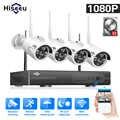 WIFI IP bullet kamera 1080P 8CH NVR kablosuz CCTV güvenlik sistemi seti kızılötesi 4 adet kamera uzaktan görüntüleme IP pro 1T hdd