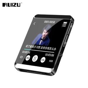 Image 4 - RUIZU M5 フルタッチスクリーンポータブル MP3 プレーヤー 8 ギガバイト/16 ギガバイトスポーツ Bluetooth MP3 プレーヤーサポート FM 、録音、電子書籍、時計、歩数計