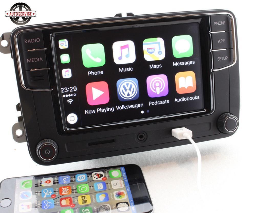 Nuevo RCD330 más RCD330G Carplay MIB 6,5 pulgadas Radio para Jetta MK5 MK6 CC Passat 6RD035187B 1GB de RAM cámara de Vista trasera Bluetooth USB - 3