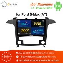 Ownice K3 K5 K6 Android 8.1 Octa 8 32G ROM Xe DVD GPS NAVI Đài Phát Thanh Stereo Cho S  Max 2007 2008 4G Cho DSP Xe Chơi DAB + Đầu Ghi Hình