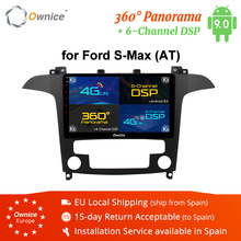 Ownice K3 K5 K6 Android 8.1 Octa 8 core 32G ROM Car DVD GPS Navi Radio Stereo For S-Max 2007 2008 4G LET DSP Car play DAB+ DVR недорого