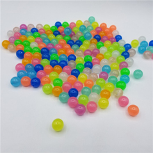200Pcs 6-12mm Acrylic Beads For Jewelery Making Luminous Fishing Loose Spacer DIY Necklace Bracelet Accessories