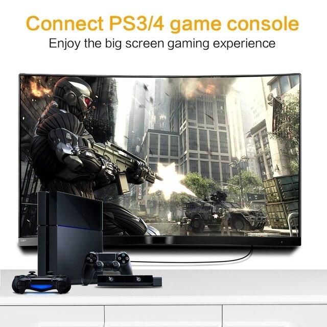 HDMI-compatible Cable HDMI-compatible to HDMI Cable Gold Plated Video Cables 3D HDMI-compatible Flat Cable for HDTV PS3 Splitter 3