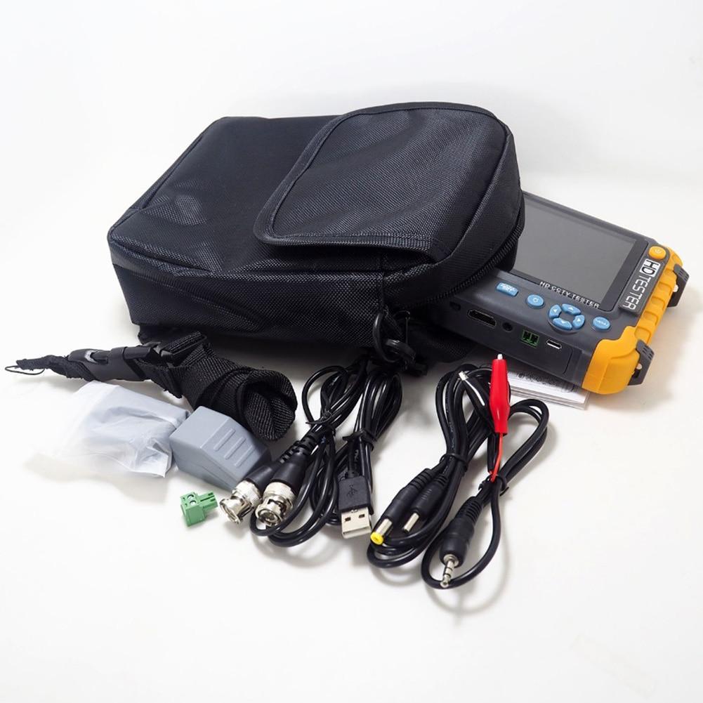 5 pouces CVBS 5MP HDMI Audio vidéo TVI écran LCD AHD CVI testeur de vidéosurveillance moniteur caméra de sécurité analogique Mini HD