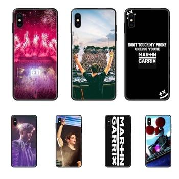 Tpu Schwarz Soft Shell Telefon Fall Martin Garrix Dj Produzieren Für iPhone 11 12 Pro XS Max X 8 7 6s Plus 5 SE 11 12 XR SE 2020 Fabrik
