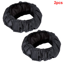 2PCS Oxford Cloth Stroller Wheel Cover Accessories Easy Apply Useful Protective Dustproof Washable Reusable Lightweight Home(China)