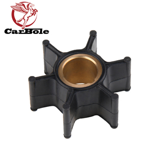 CARBOLE For OMC Johnson Evinrude BRP 2-stroke and 4 Stroke Outboard Motor Water Pump Impeller Part 386084 18-3050 9-45201 500355(China)