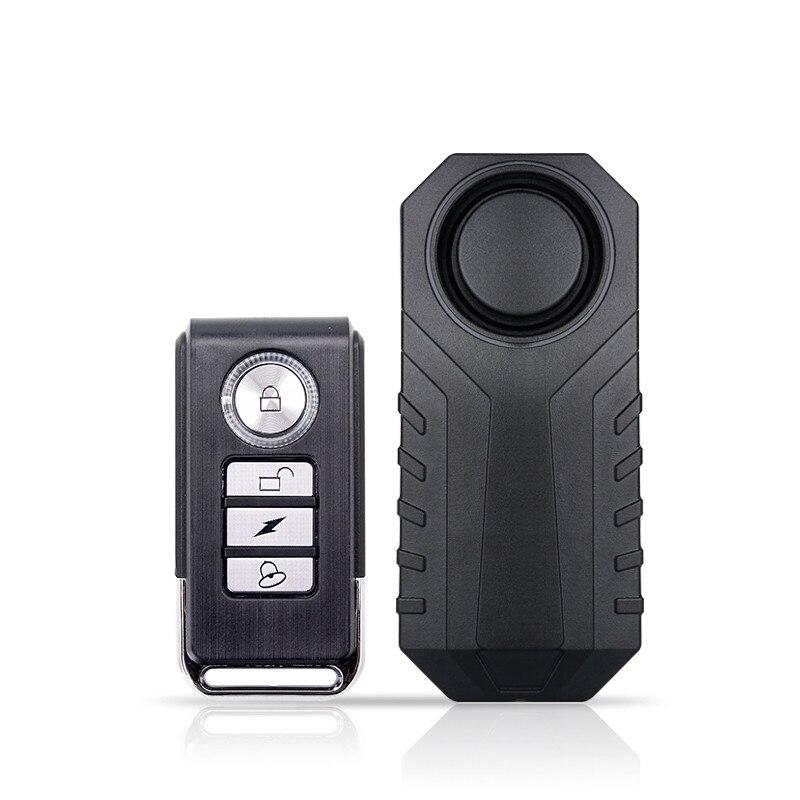 Alarm System Waterproof Remote Control Bike Motorcycle Electric Car Security Anti Lost Remind Vibration Warning Alarm Sensor