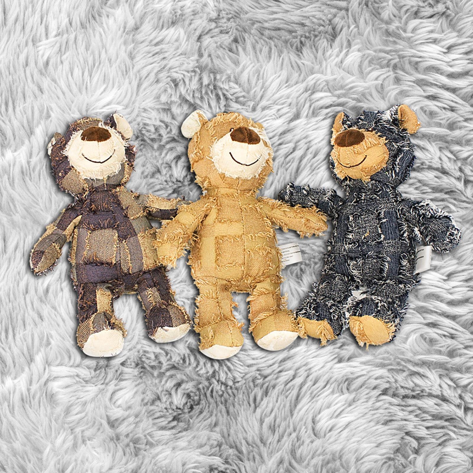 Euramerican tarzı ses olacak benzersiz dilenci hayvan ayı üç renk isteğe bağlı çocuklar için noel doğum günü partisi peluş oyuncaklar