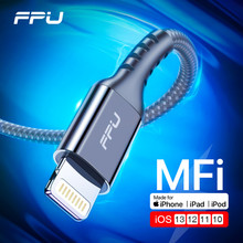 FPU Lightning Cable Fast Charging For Apple iPhone 11 Pro Max XR XS 8 7 6s 6 Plus 5s iPad USB Data Cable Cord For iPhone Charger кабель a data lightning usb для iphone ipad ipod 1м золотистый amfial 100cmk cgd