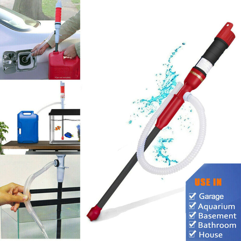 Battery Operated Liquid Transfer Pump Handheld Gas Oil Fish Tank Siphon Water