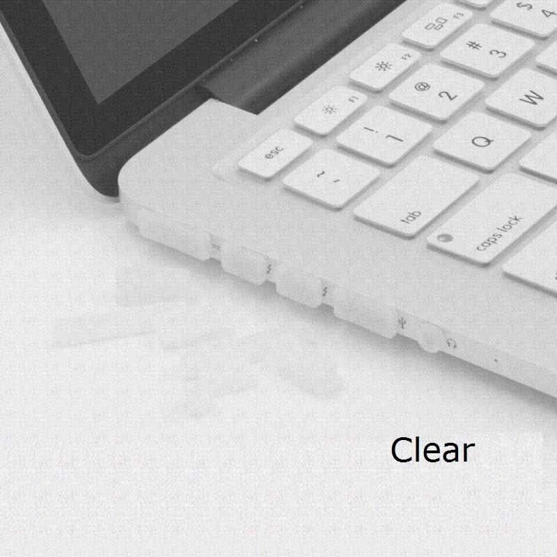 Soft Silicon Voor Macbook Pro 13 Pro 15 Cd Rom A1278 A1286 Stof Plug Usb-poorten Anti-Stof Plug 2 Stks/partij